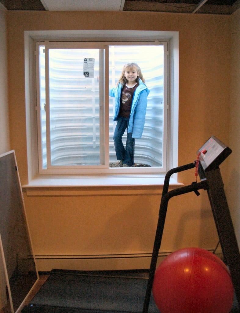 Basement Egress Window Installation In Nau Suffolk And